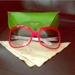 Kate Spade Sunglasses Red